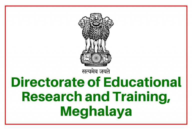Meghalaya Dect Recruitment