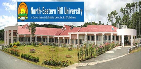 NEHU Shillong Recruitment