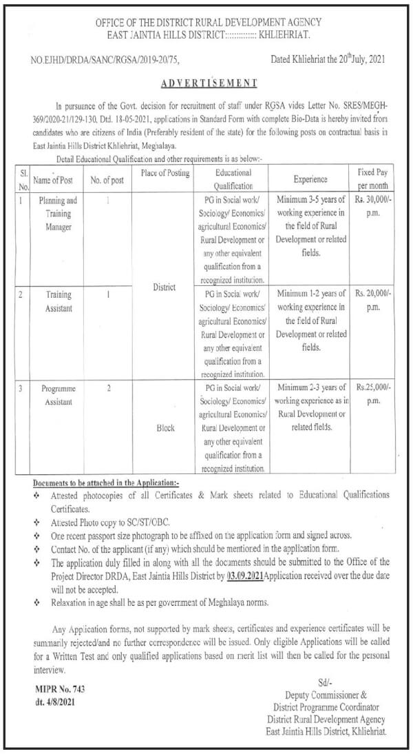 DRDA-EJHD-Recruitment-2021-Training-Manager-Assistant